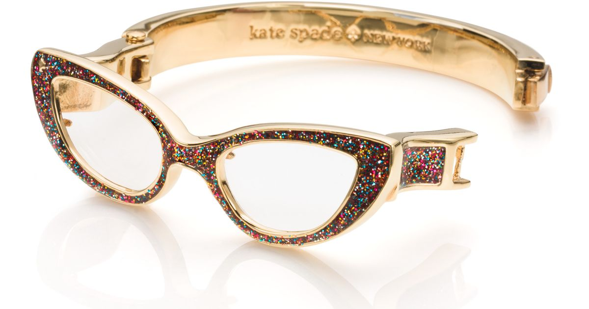 a86929af4b Lyst - Kate Spade Lookout Glasses Bangle