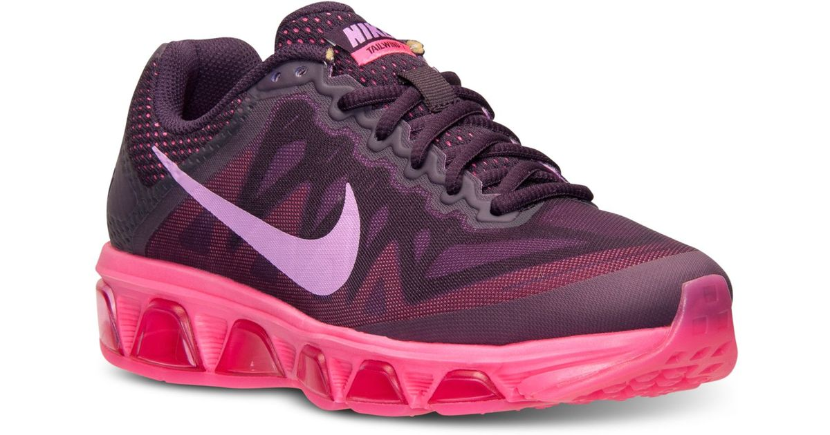 f7012a6c808263 Lyst - Nike Women s Air Max Tailwind 7 Running Sneakers From Finish Line in  Purple
