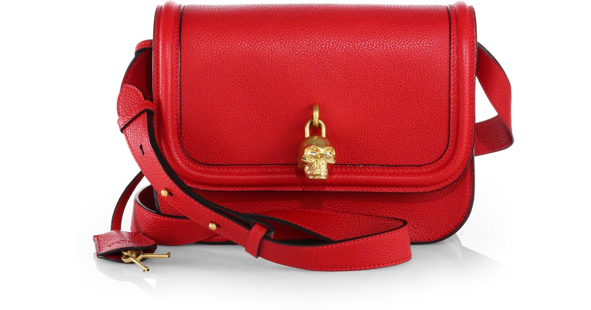 mini crossbody bag - Red Alexander McQueen t3vzo00