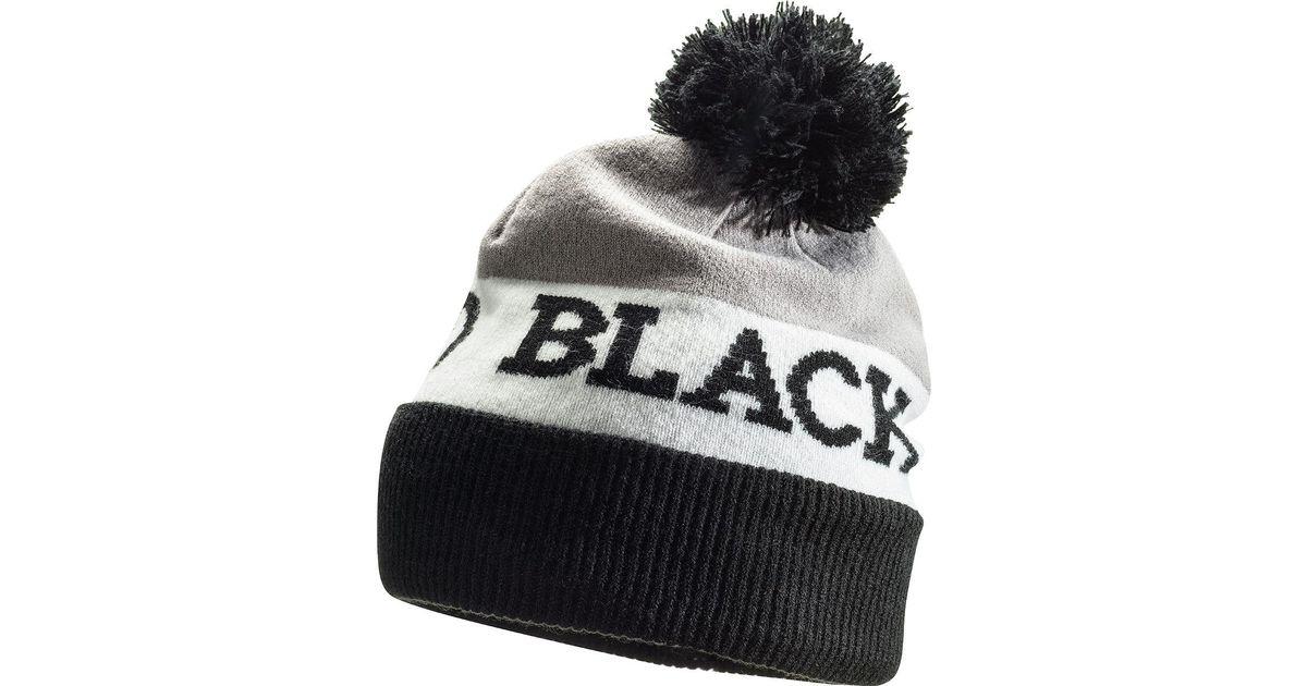 3ea621cd88c Lyst - Black Diamond Tom Pom Beanie for Men