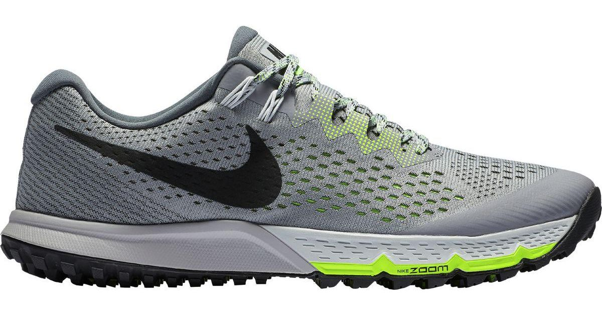 7094ee0643c Lyst - Nike Air Zoom Terra Kiger 4 Trail Running Shoe in Gray for Men