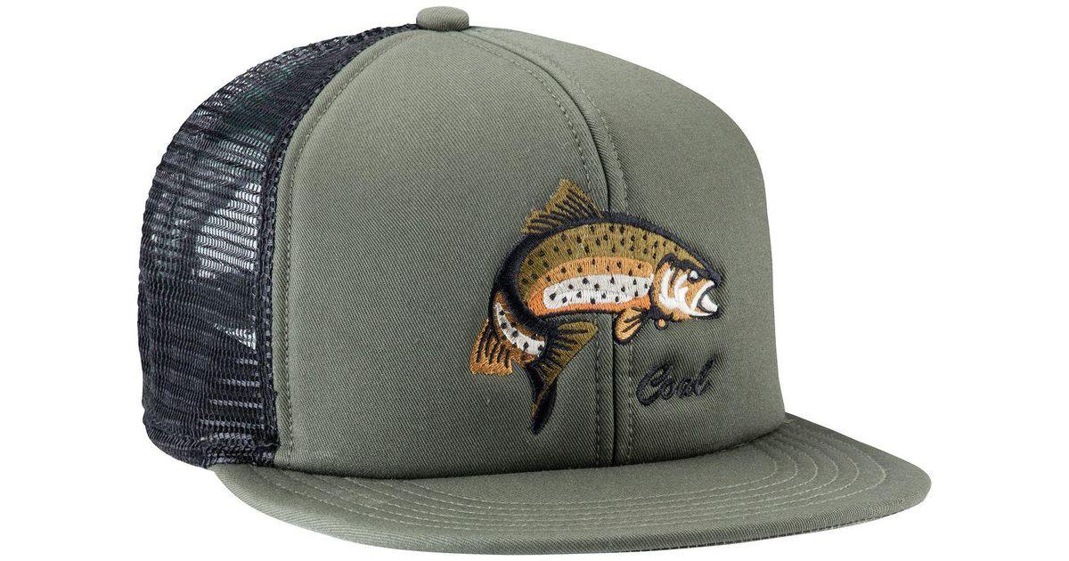 5625cba9861 Lyst - Coal Wilds Trucker Hat in Green for Men