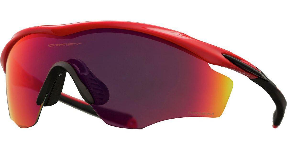 3991758e92 Lyst - Oakley Oo9343 M2 Frame Xl Sunglasse in Red for Men