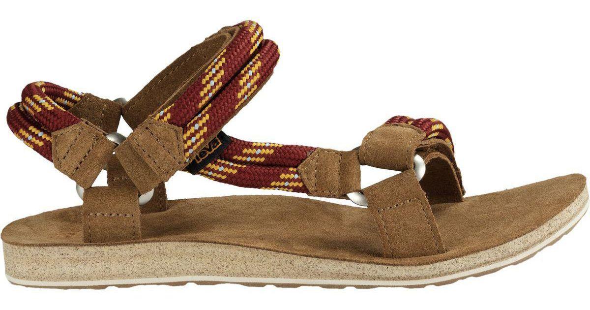 cd45b3931 Lyst - Teva Original Universal Rope Sandal in Brown for Men