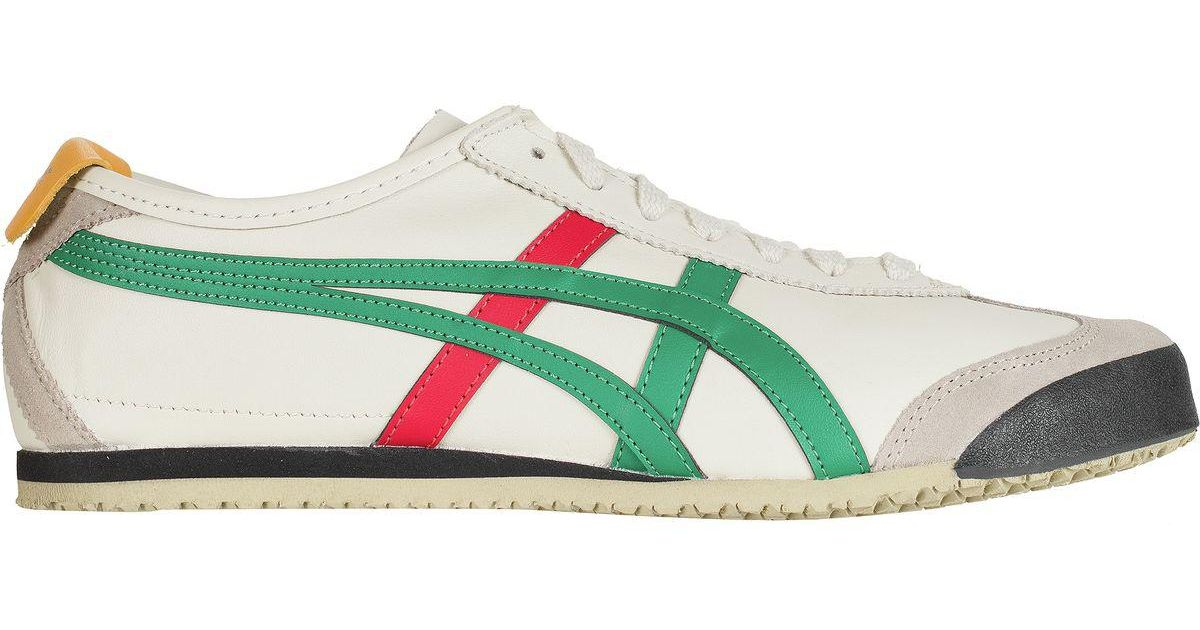 new style 9a5cb 46dd0 Asics - Green Onitsuka Tiger Mexico 66 Shoe for Men - Lyst