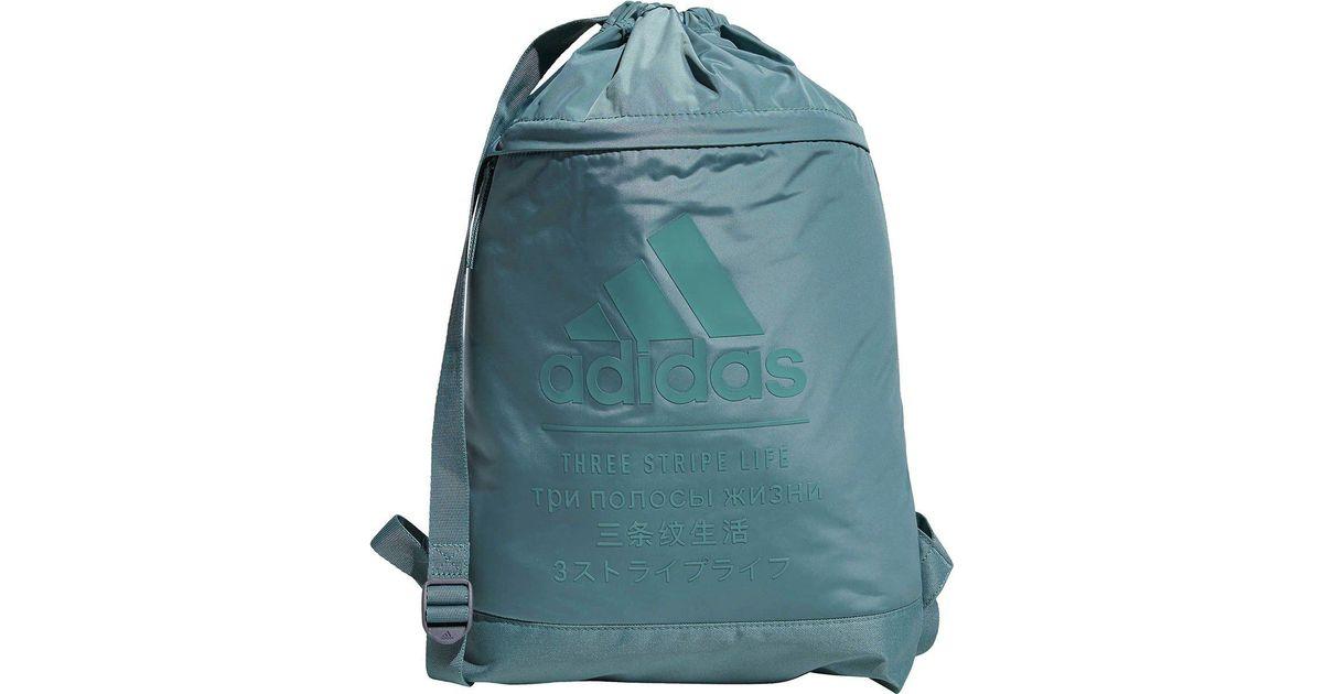 ff1b9c2da2a0 Lyst - adidas Amplifier Blocked Sackpack in Green for Men