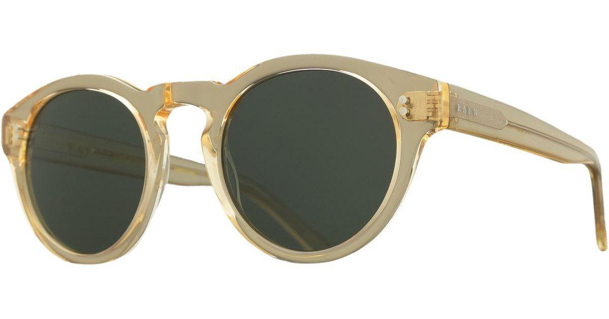 7a20994dcf1c Lyst - Raen Parkhurst Sunglasses - Polarized in Green for Men