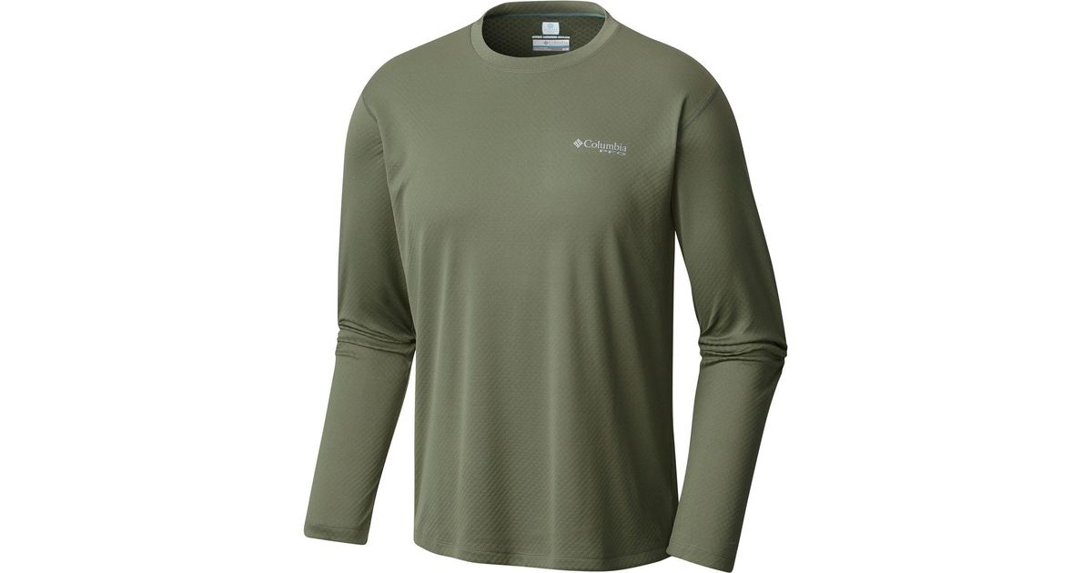 230ebdd4e9a Lyst - Columbia Pfg Zero Rules Long-sleeve Shirt in Green for Men