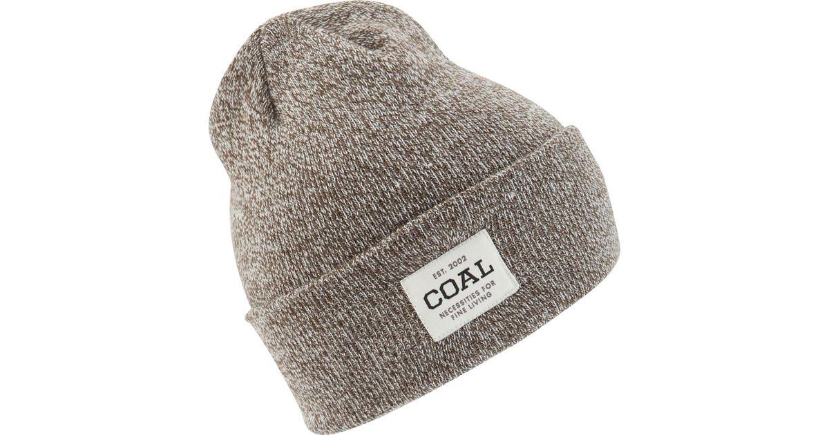 Lyst - Coal Uniform Beanie in Gray for Men d291c93cf65