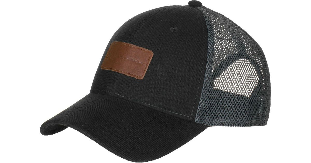 timeless design 7a7f0 08714 ... buy lyst under armour corduroy trucker cap in black for men aef18 49ee3  ...