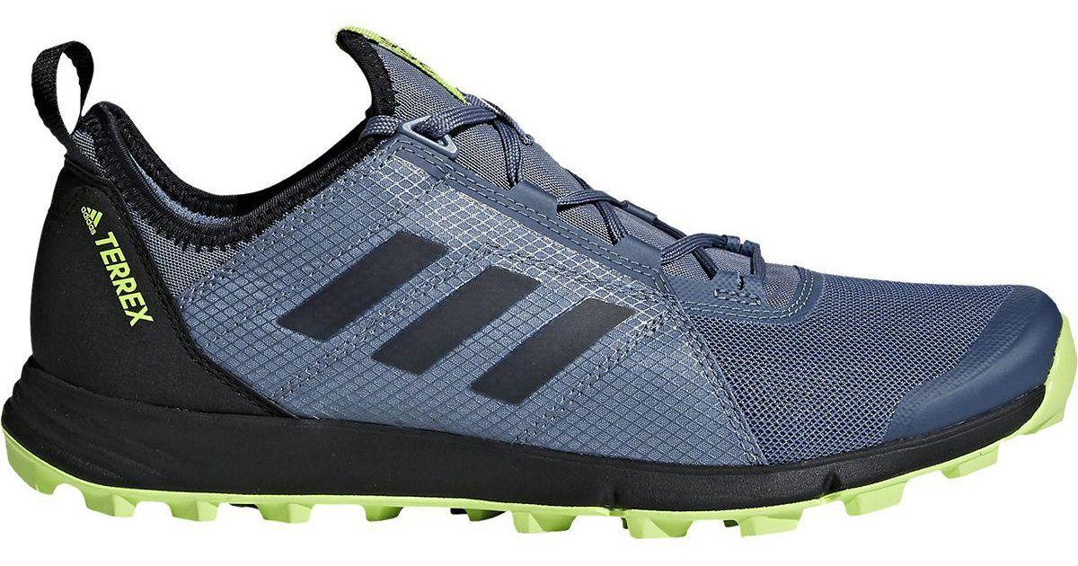 9c02c9e5555ec9 Lyst - adidas Originals Terrex Agravic Speed Trail Running Shoe in Blue for  Men