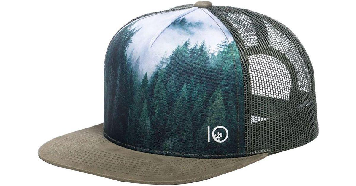 innovative design 28478 84d27 ... inexpensive lyst tentree outlook trucker hat for men 9cbd9 e9da6