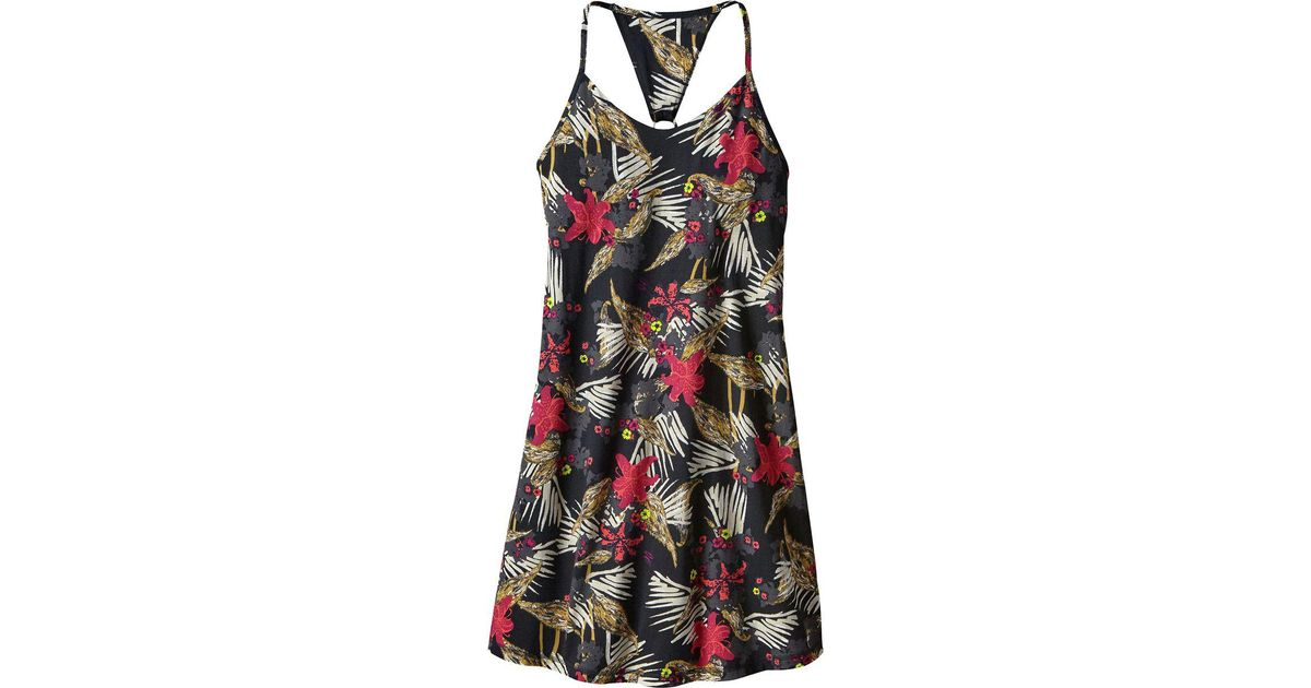 b7df3cf7995 Lyst - Patagonia Edisto Jersey Dress in Black