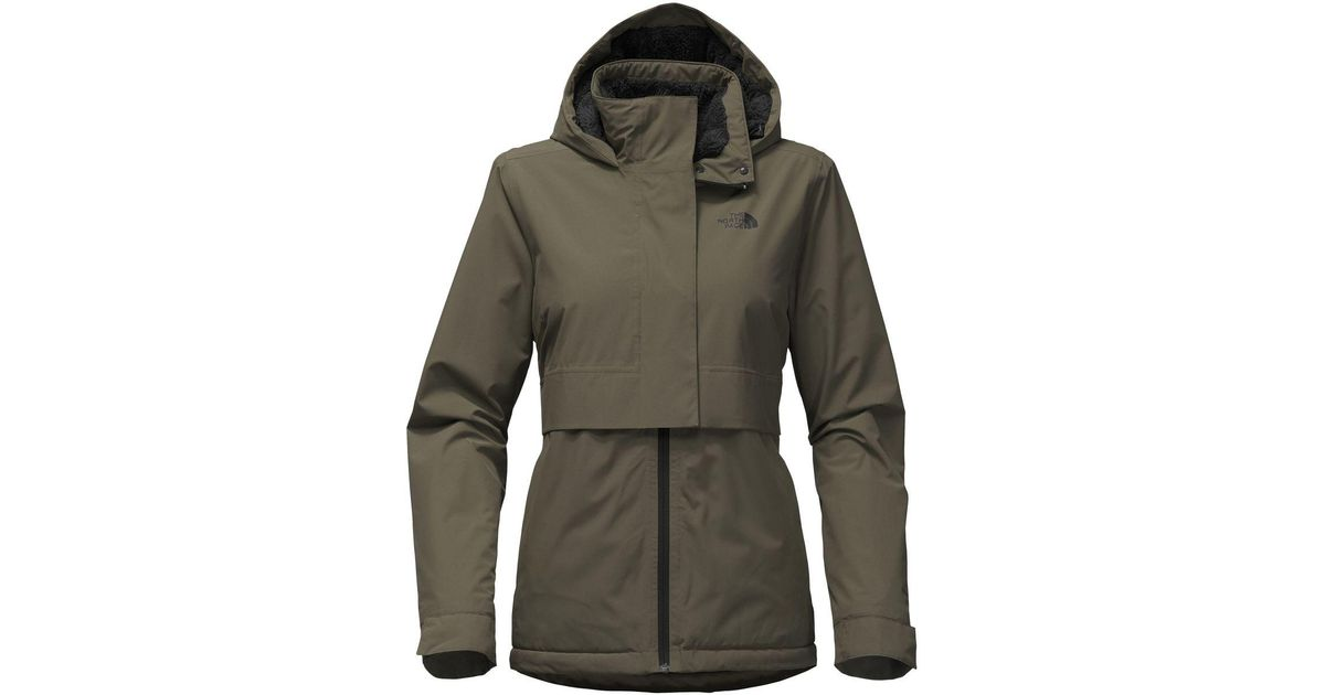 c886c340eafa Lyst - The North Face Morialta Hooded Jacket in Green