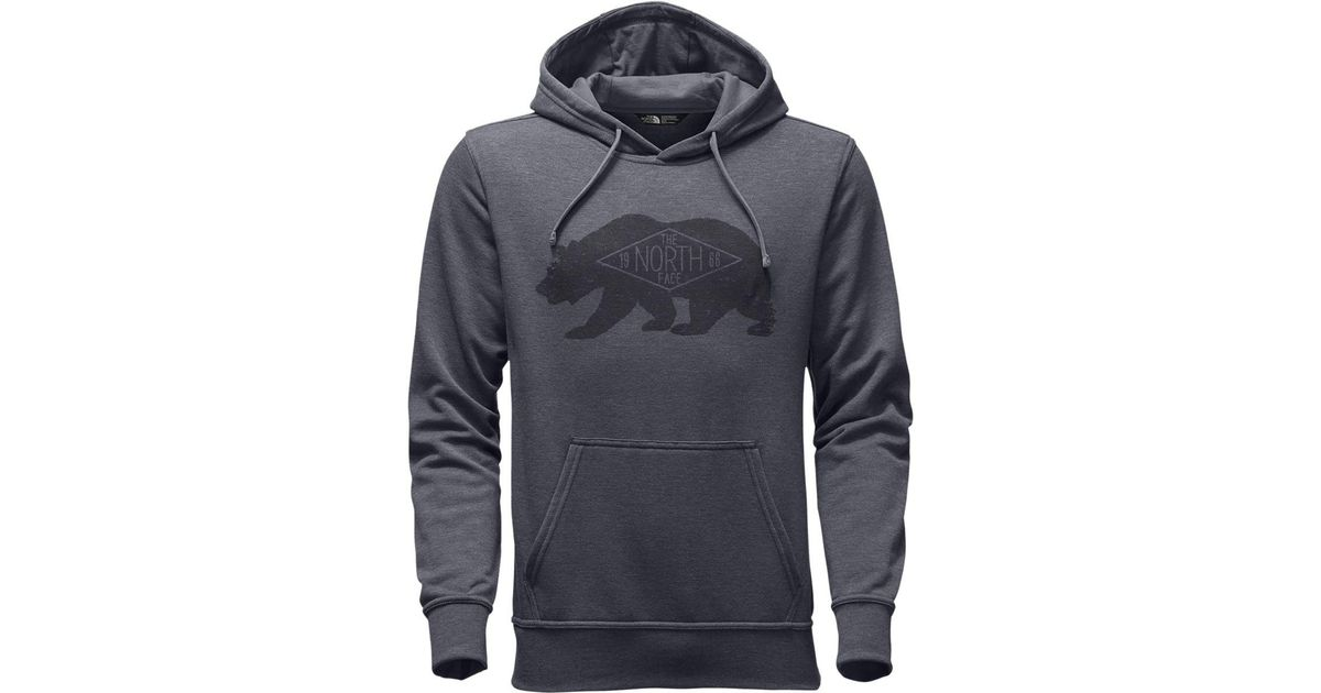 26fa0bf88 The North Face - Gray Bearitage Pullover Hoodie for Men - Lyst