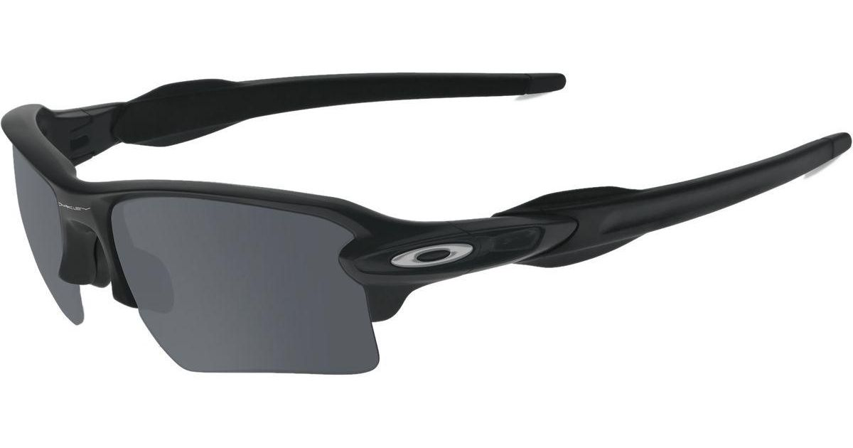 4269a3e08 Lyst Oakley Flak Jacket 2 0 Xl Sungles In Black