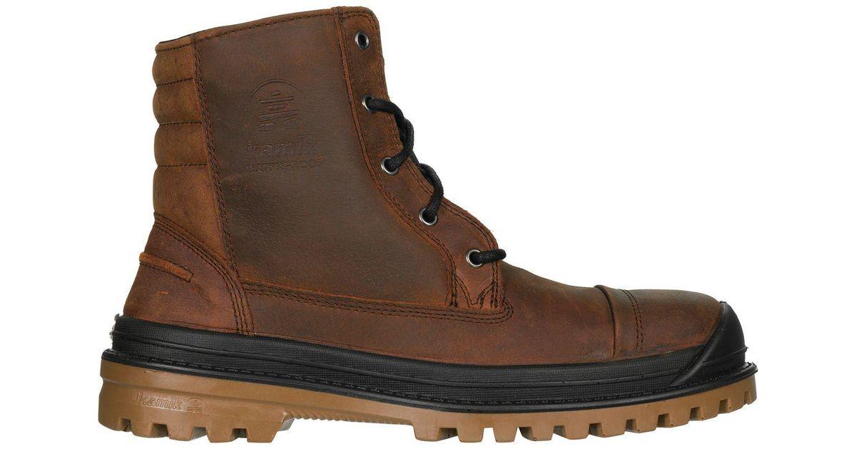 8dfa5eaea Lyst - Kamik Griffon Winter Boot in Brown for Men - Save 45%