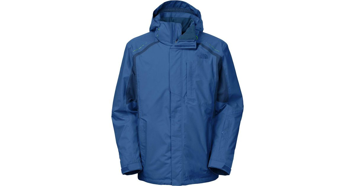 314e91702 The North Face - Blue Vortex Triclimate Jacket for Men - Lyst