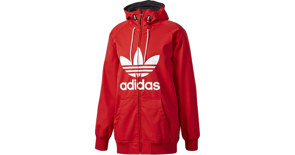 4bdbd5787179 Lyst - adidas Greeley Softshell Jacket in Red for Men