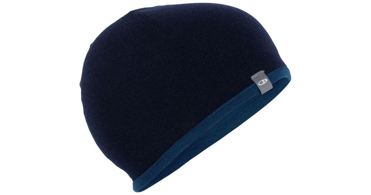 8745985be2f Lyst - Icebreaker Reversible Pocket 200 Beanie in Blue for Men