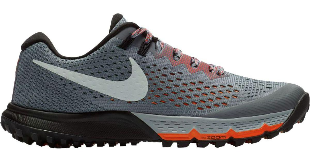 22932d9d8a5 Lyst - Nike  s W Air Zoom Terra Kiger 4 Running Shoes in Gray