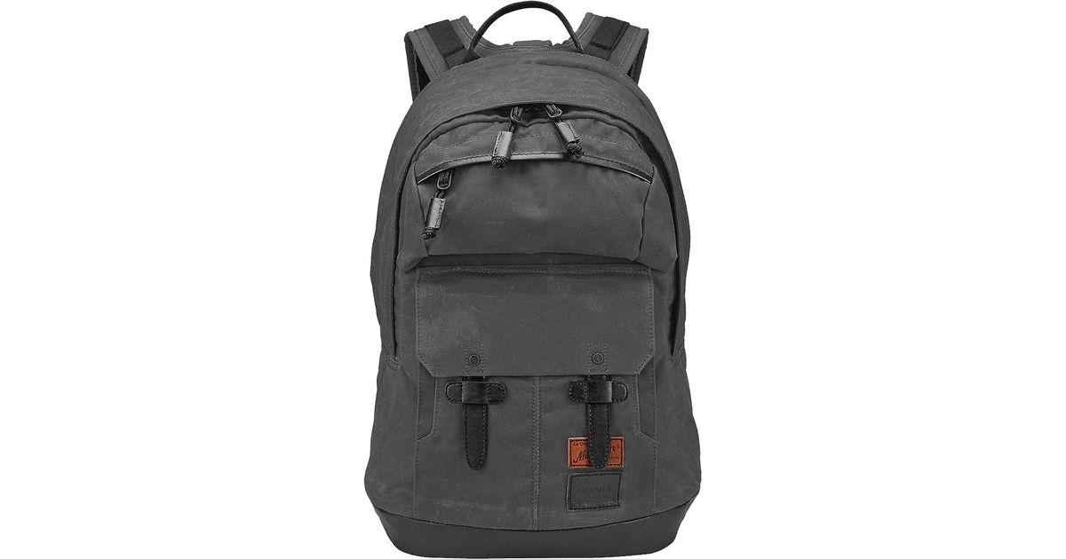 b6fa9b5c25 Lyst - Nixon Bristol 18l Backpack in Black for Men
