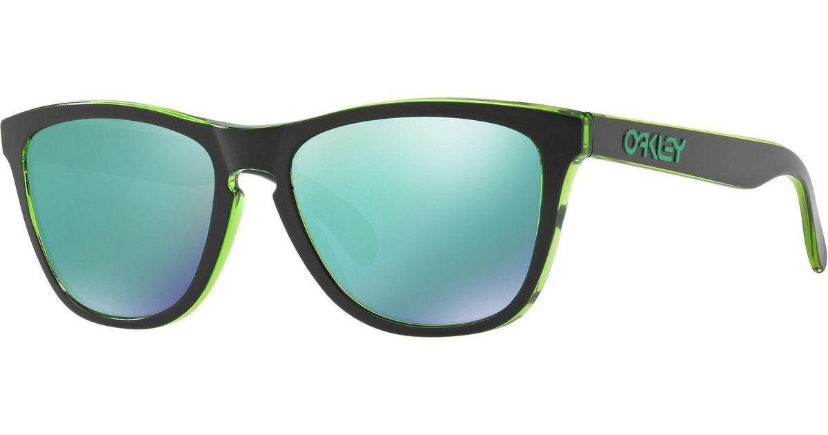 f1dc0c5497 Lyst - Oakley Frogskins Eclipse Sunglasses in Green for Men