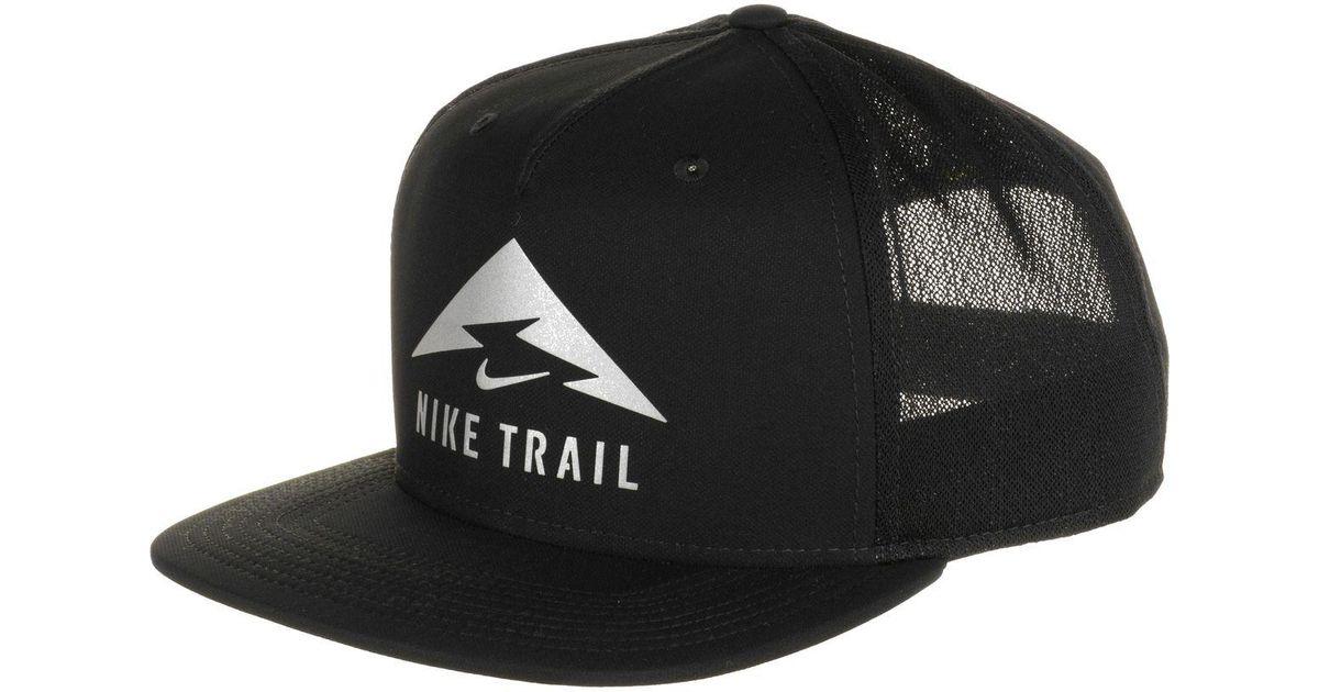 hot sale online 1df1a 1bfb8 ... aliexpress lyst nike aerobill trail cap in black for men 777b8 f5492