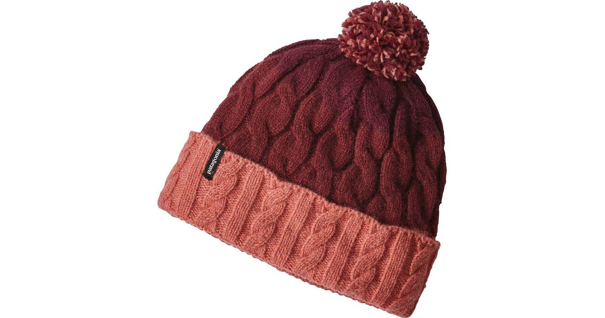 da9179aba59 Lyst - Patagonia Pom Beanie in Red - Save 31%