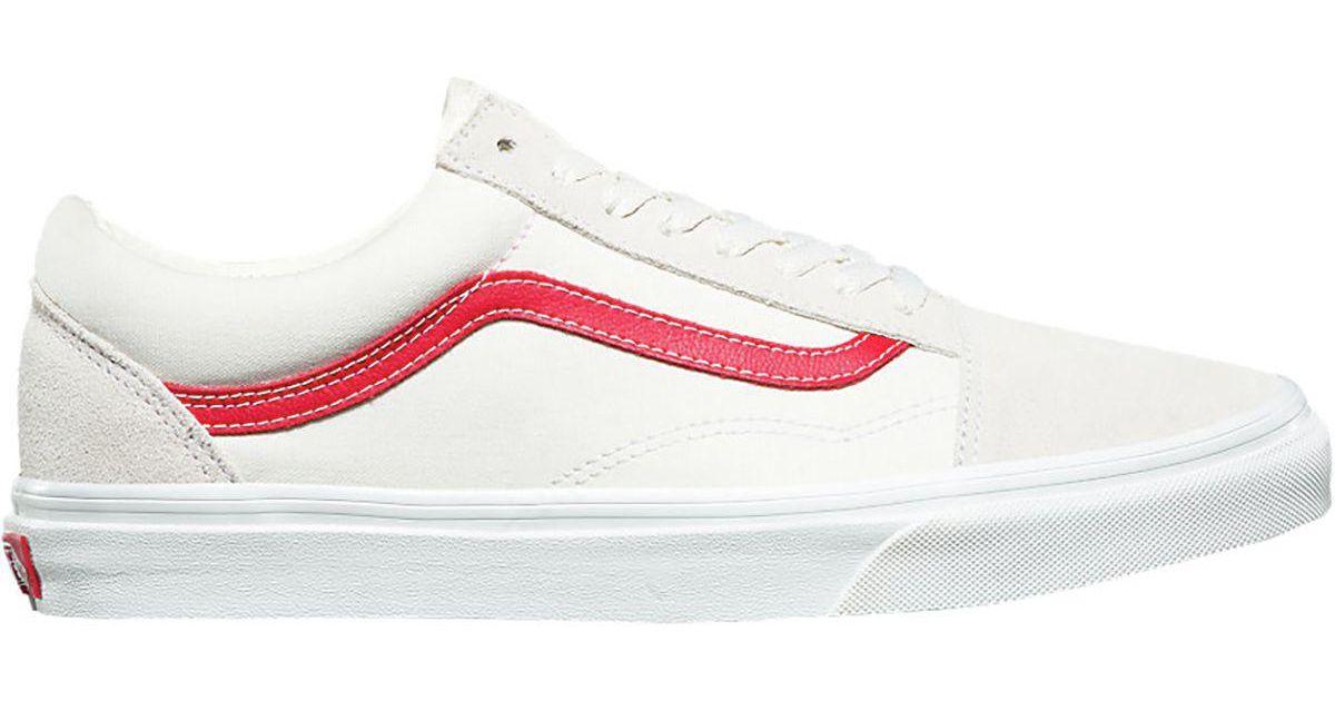 Lyst - Vans Old Skool Shoe in Red for Men 713163365