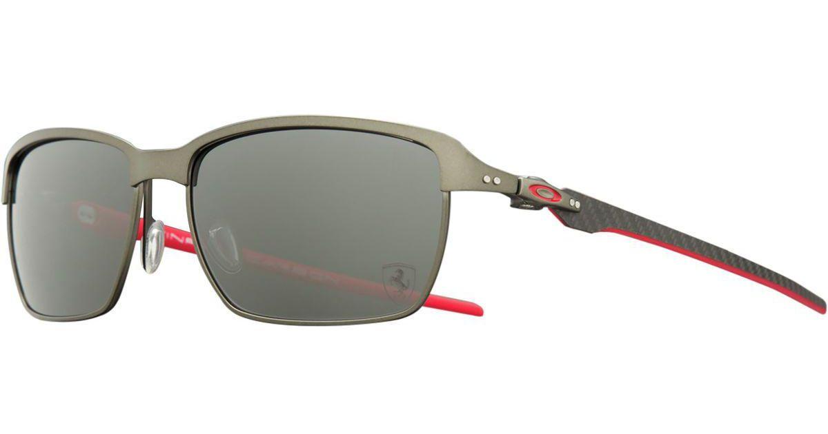 3cdb0fca4de Lyst - Oakley Tinfoil Carbon Polarized Sunglasses in Black for Men
