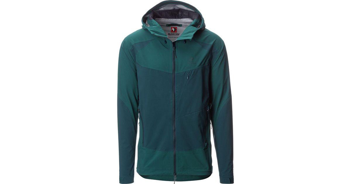 3157a2ab96703 Lyst - BLACKYAK Sibu Gore C-knit Jacket in Green for Men