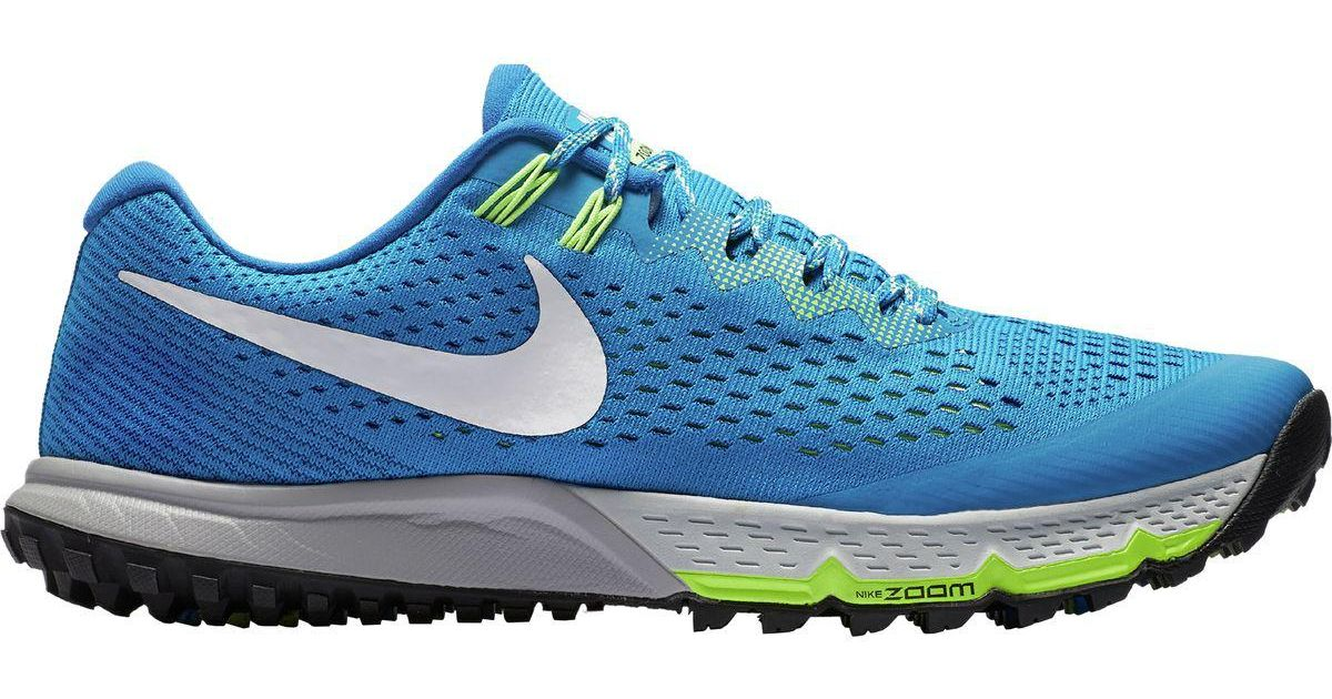 c54069e7d0b5b Lyst - Nike Air Zoom Terra Kiger 4 Trail Running Shoe in Blue for Men