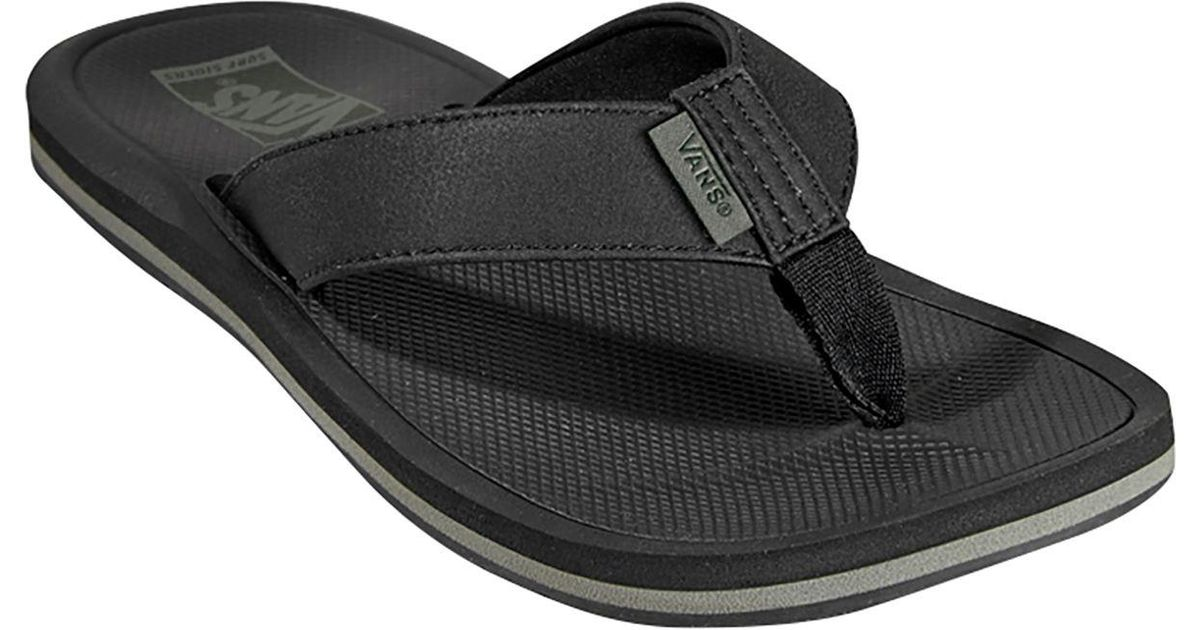7bf476d6dbf1 Lyst - Vans Nexpa Synthetic Flip Flop in Black for Men - Save 55%