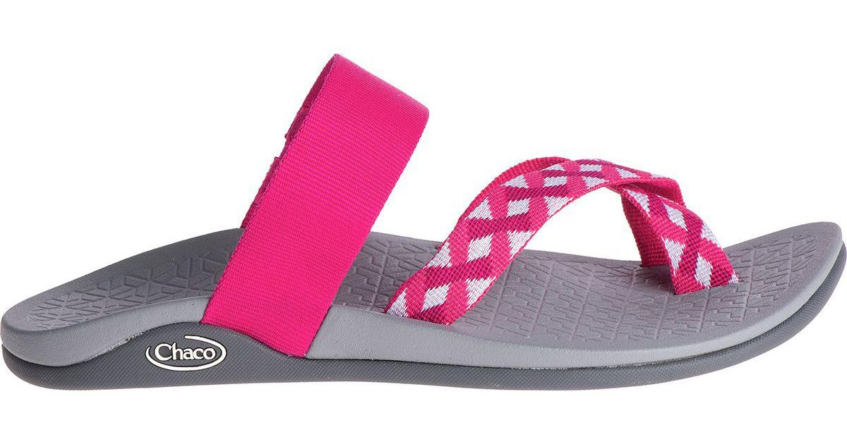 c2a7e626af8f Lyst - Chaco Tetra Cloud Sandal in Pink