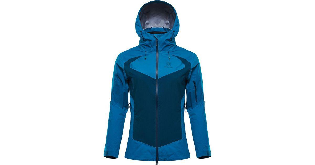 8dbdb72cb5ee2 Lyst - BLACKYAK Sibu Gore-tex C-knit Jacket in Blue
