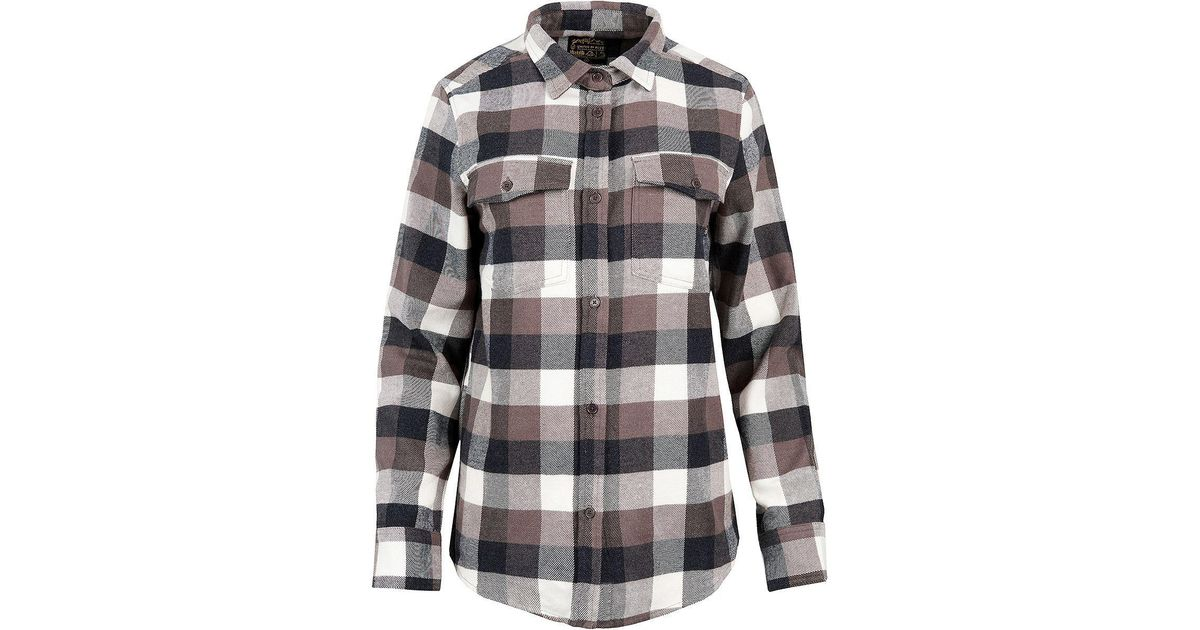 51db2b9e United By Blue Fremont Flannel Button-up in Black - Lyst