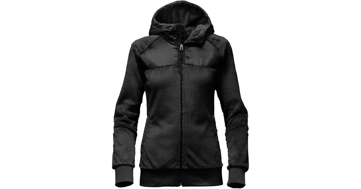 4bfb91a9c1de Lyst - The North Face Oso Hooded Fleece Jacket in Black