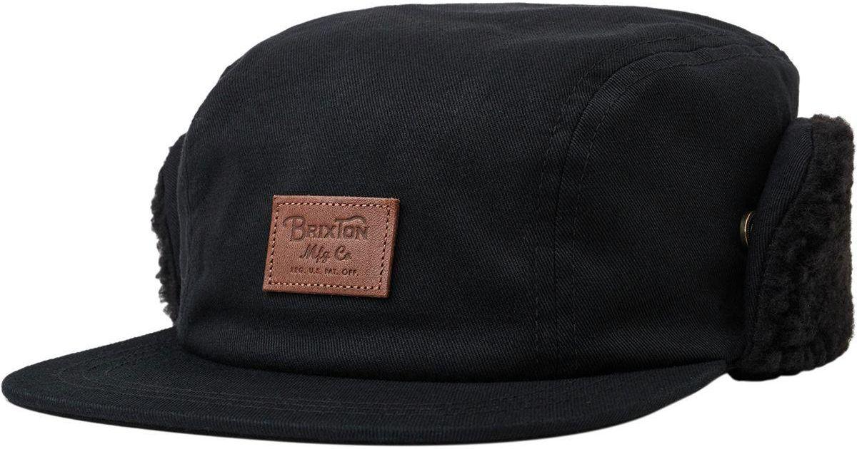 Lyst - Brixton Grade Ii Cap in Black for Men e0908b37b58b