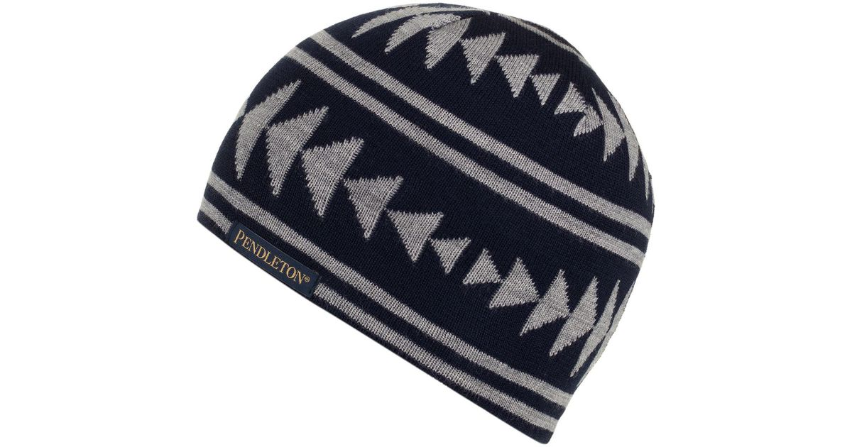 Lyst - Pendleton Knit Watch Beanie in Blue for Men 9bb69c6cc08