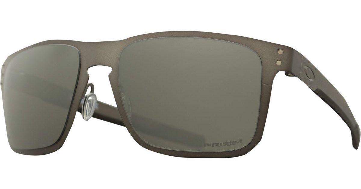 8870004c721 oakley holbrook metal Lyst - Oakley Holbrook Metal Prizm Sunglasses -  Polarized in Gray .