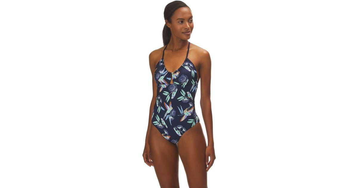 a495732a0a655 Patagonia Glassy Dawn One-piece Swimsuit in Blue - Lyst