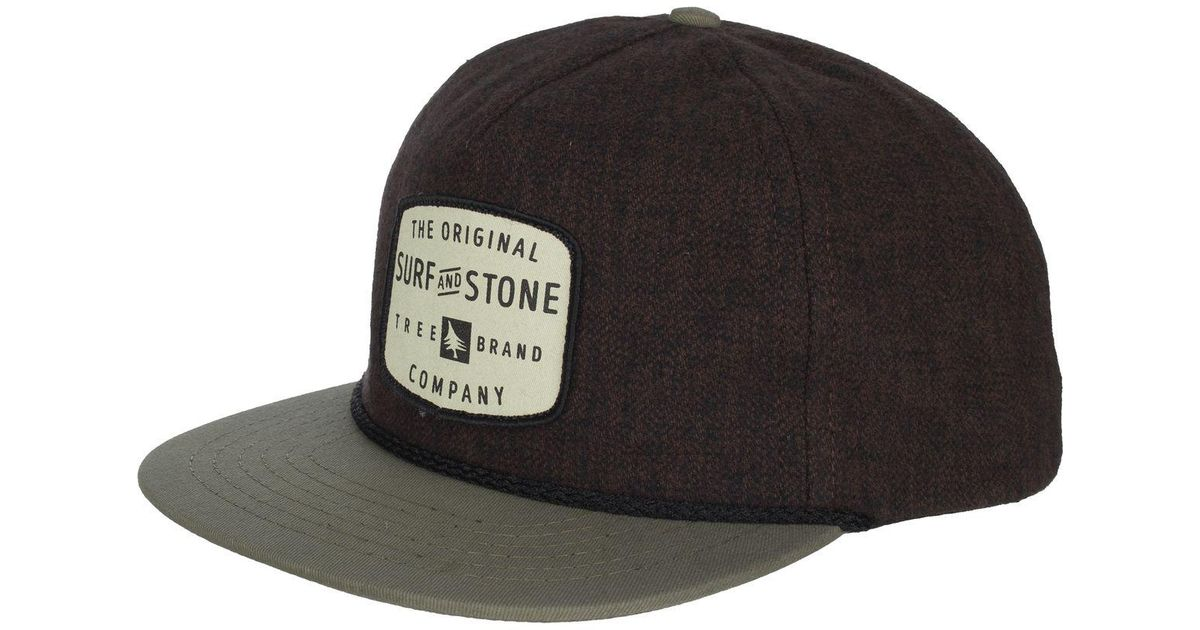Lyst - HippyTree Hillsboro Snapback Hat in Brown for Men d91bd9fc85ec