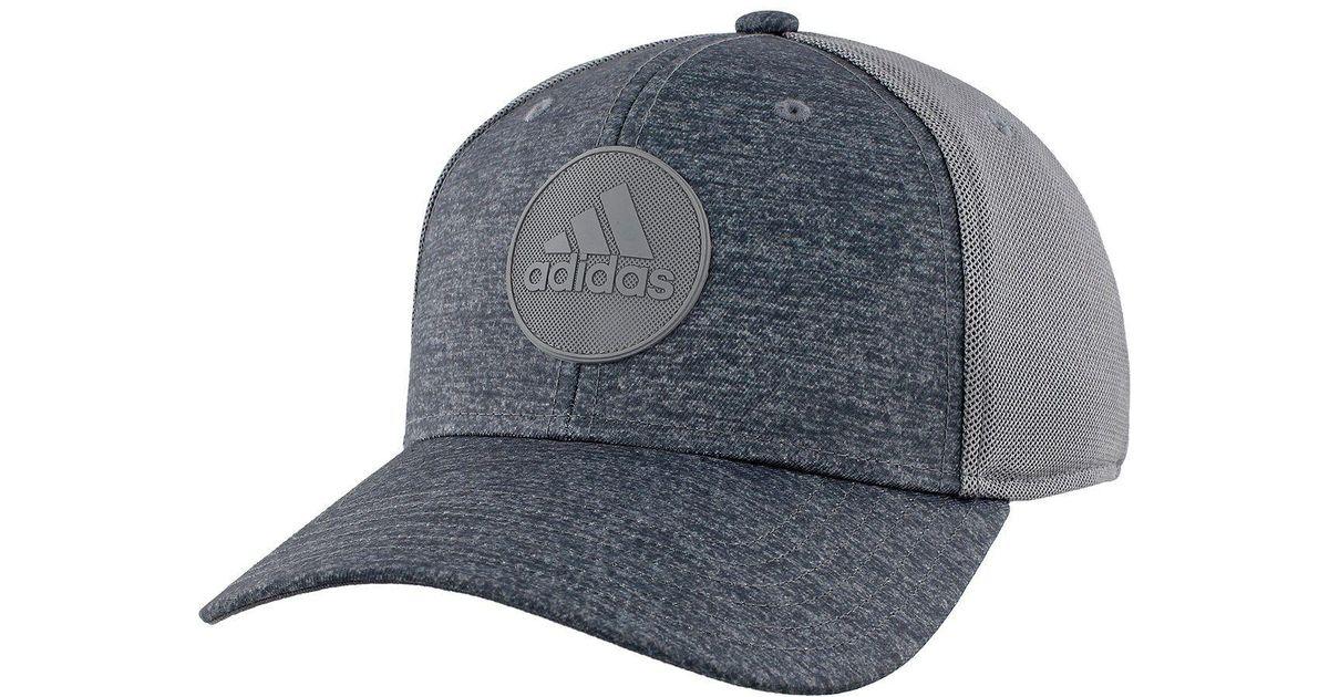 252c949d ... discount code for lyst adidas originals thrill snapback hat in gray for  men 7c8ea 72385