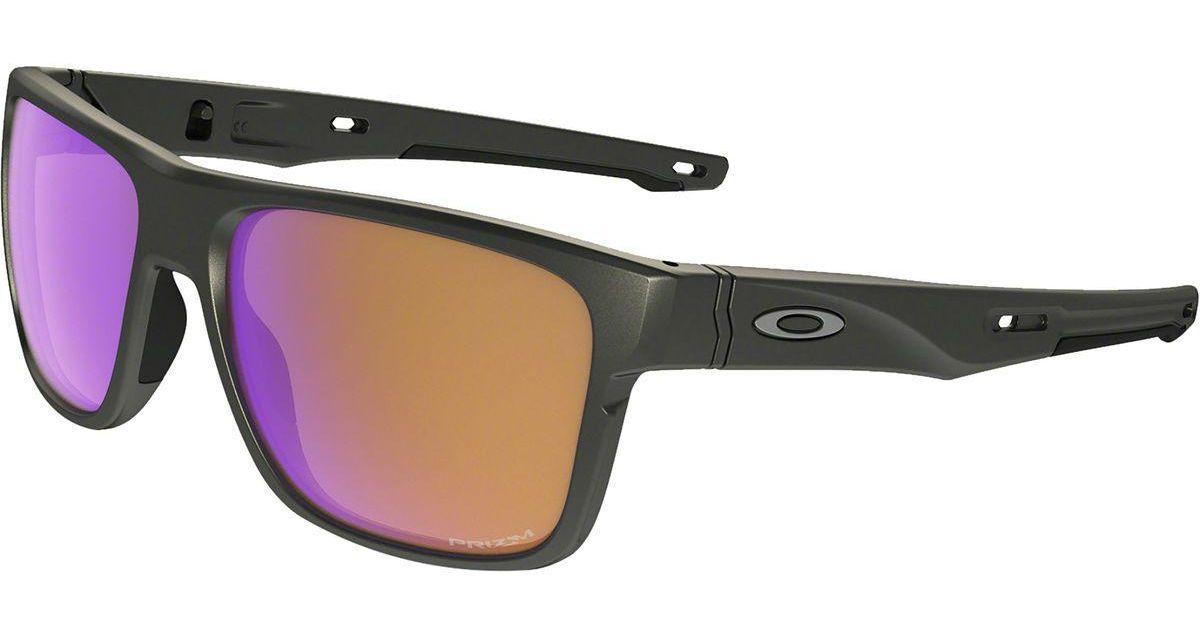 6353ccca325 Lyst - Oakley Crossrange Prizm Sunglasses for Men