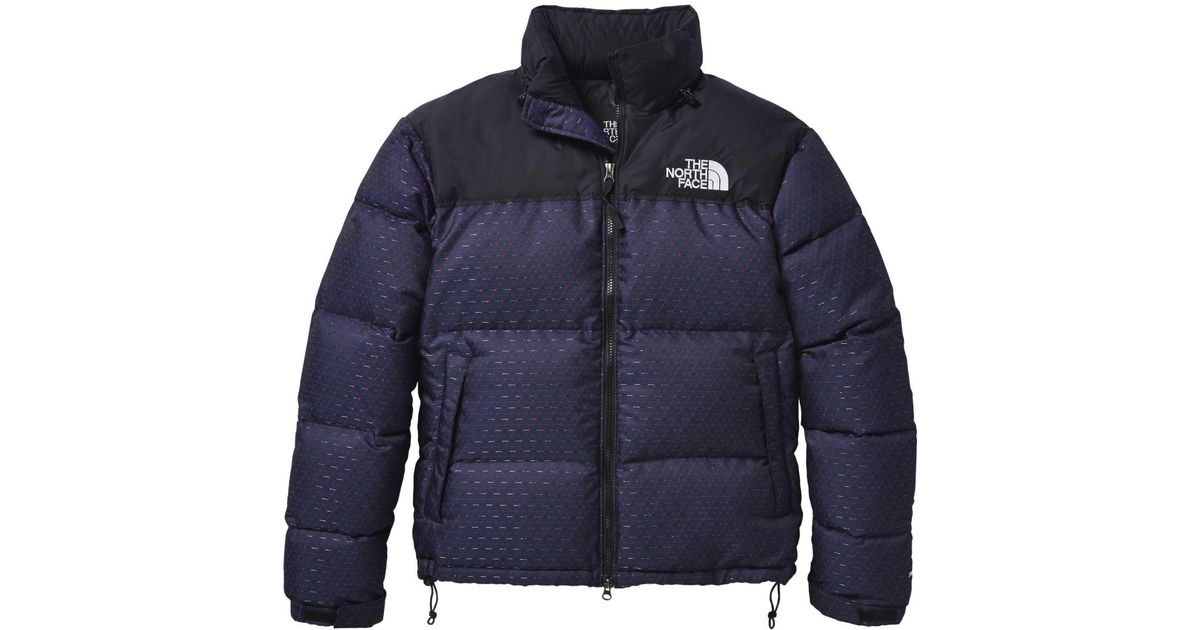 Lyst - The North Face 1996 Retro Nuptse Jacket in Blue 7cde64093