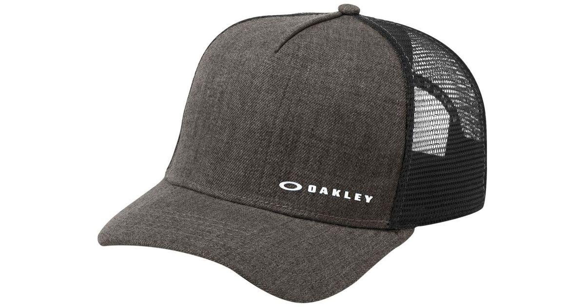 9641e0585e972 ... sliver 110 snapback cap 178cc 95d63  50% off lyst oakley chalten snapback  hat in black for men 4df9b 38196