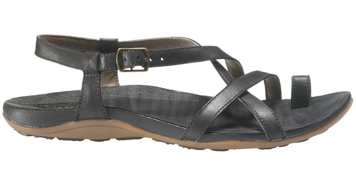 5f15cf19c04 Lyst - Chaco Dorra Sandal in Black