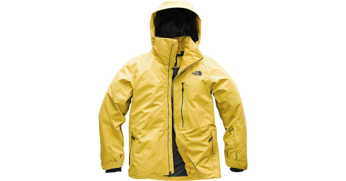 Lyst - The North Face Maching Hooded Jacket in Yellow for Men 5425433b7