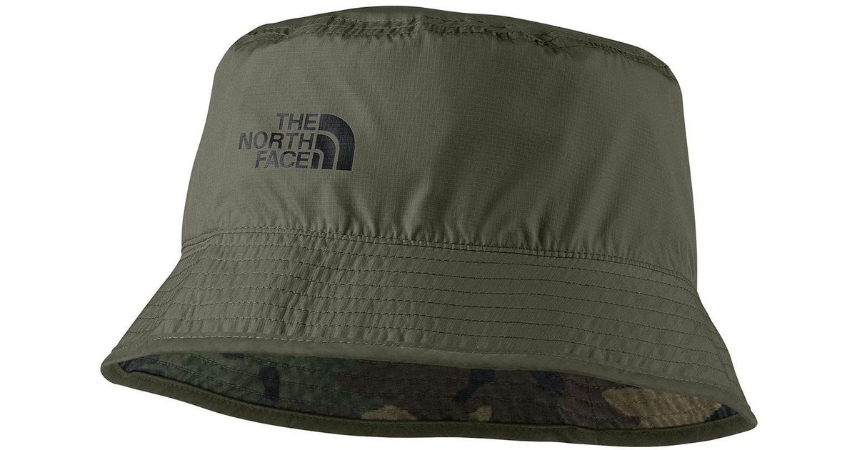 d724970d The North Face Sun Stash Hat in Green for Men - Lyst